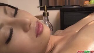 Aoi Miyama loves pussy so she gets steamy in lesbian scenes – More at Japanesemamas com